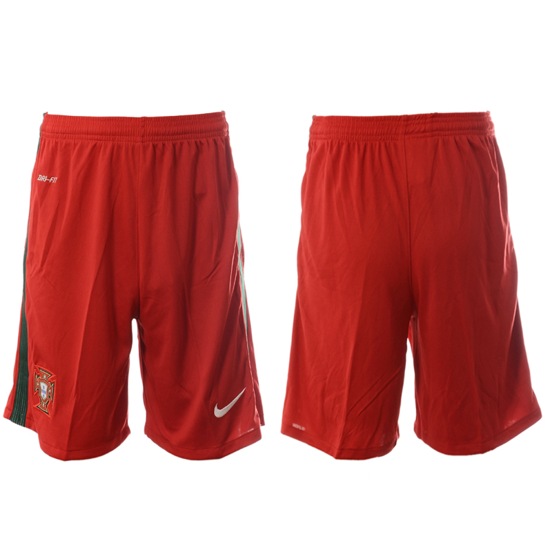 Portugal Home Euro 2016 Soccer Shorts