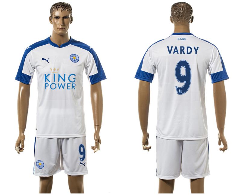 2015-16 Leicester City 9 VARDY Third Away Soccer Jersey