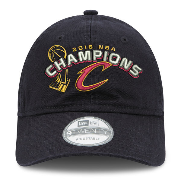 Cleveland Cavaliers Black 2016 NBA Champions Adjustable Hat XDF