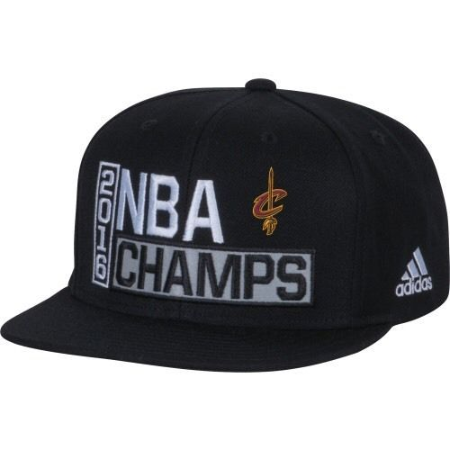 Cleveland Cavaliers Black 2016 NBA Champions Adjustable Hat XDF2