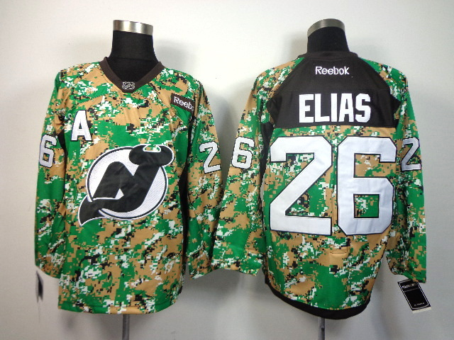 Devils 26 Elias Woodlandcamo Jerseys