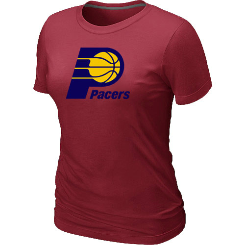Indiana Pacers Big & Tall Primary Logo Red Women T-Shirt