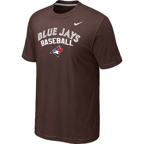 Nike MLB Toronto Blue Jays 2014 Home Practice T-Shirt Brown