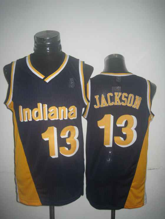 Pacers 13 Jackson Blue New Revolution 30 Jerseys