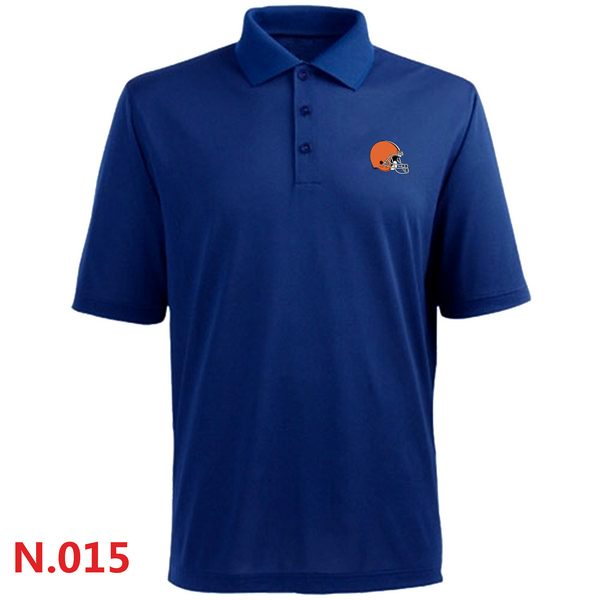 Nike Cleveland Browns 2014 Players Performance Polo Blue