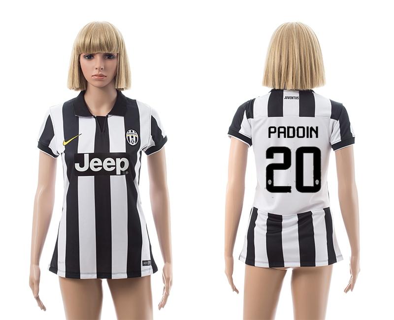 2014-15 Juventus 20 Padoin Home Women Jerseys