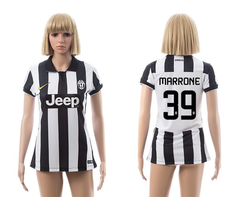 2014-15 Juventus 39 Marrone Home Women Jerseys