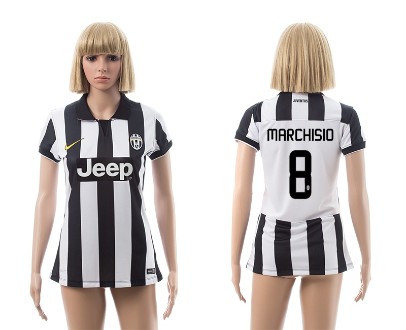 2014-15 Juventus 8 Marchisio Home Women Jerseys