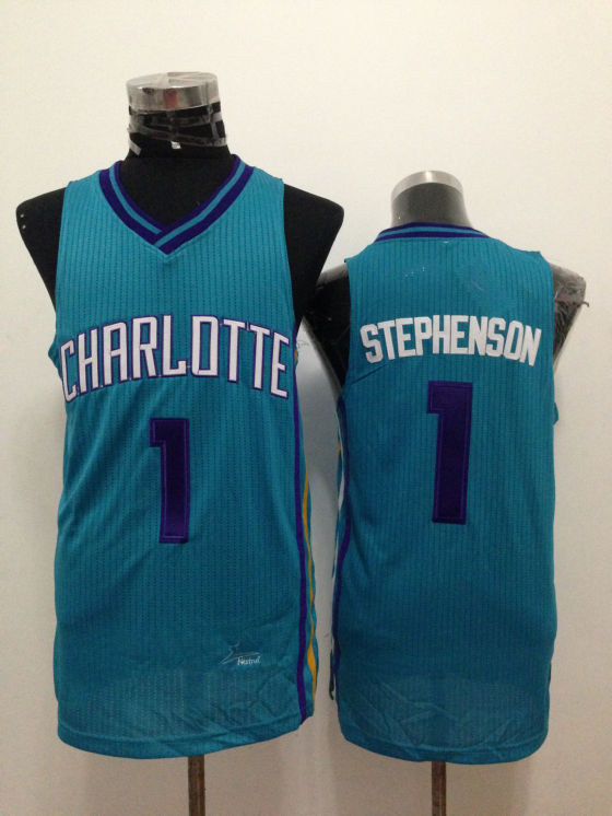 Hornets 1 Stephenson Teal New Revolution 30 Jerseys