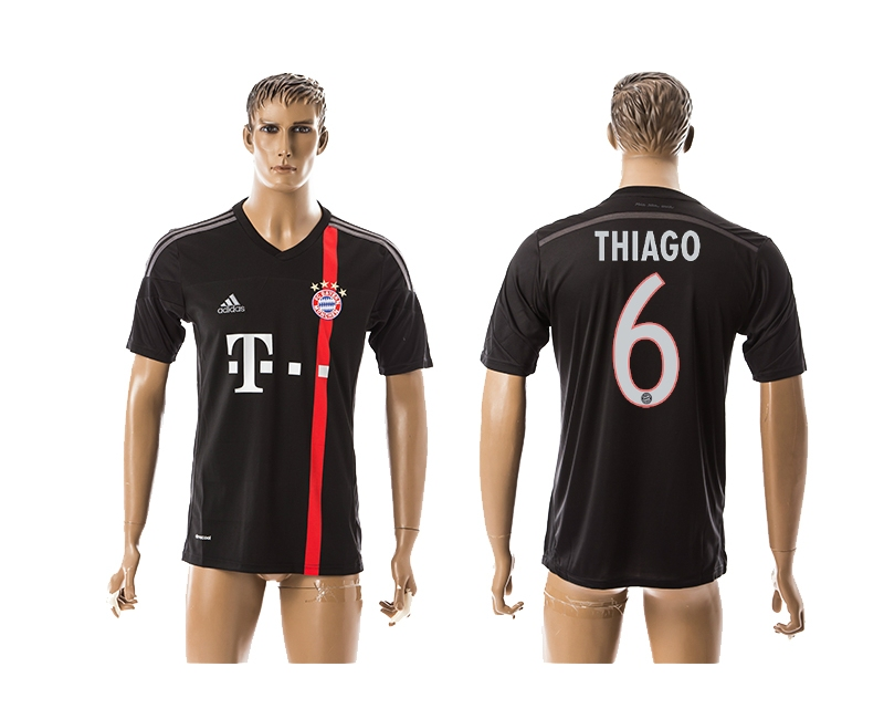 2014-15 Bayern Muchen 6 Thiago Third Away Thailand Jerseys