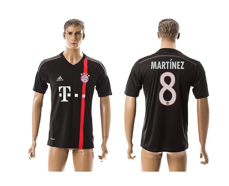 2014-15 Bayern Muchen 8 Martinez Third Away Thailand Jerseys