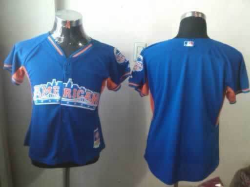 American League Blank Blue 2013 All Star Jerseys