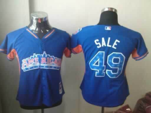 White Sox 49 Sale Blue 2013 All Star Jerseys