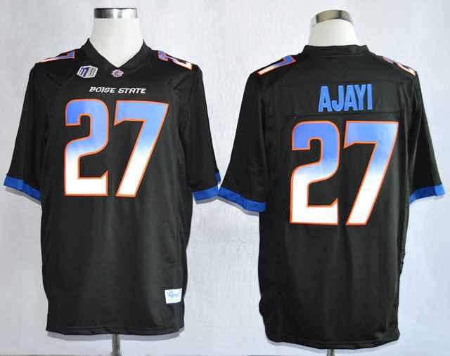 Boise State Broncos Jay Ajayi 27 College Black Jerseys