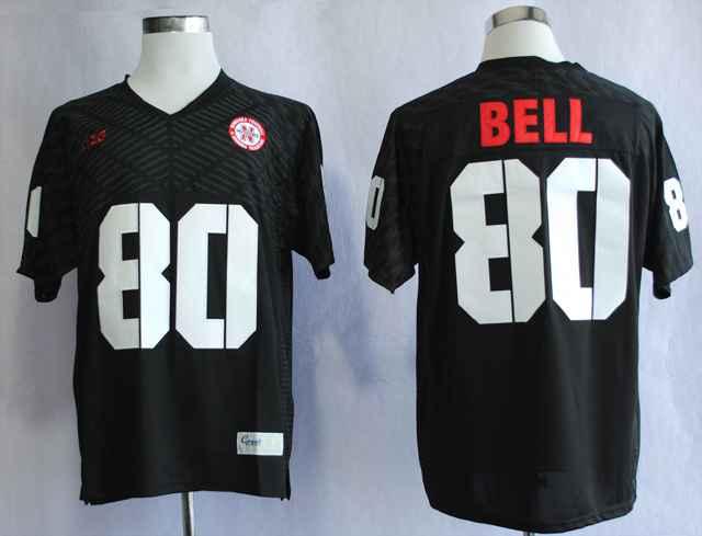 Nebraska Cornhuskers Kenny Bell 80 College Black Jersey