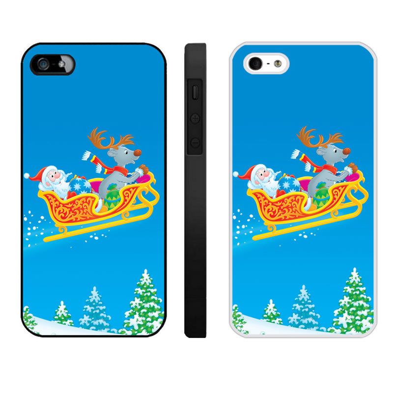 Merry Christmas Iphone 4 4S Phone Cases (1)