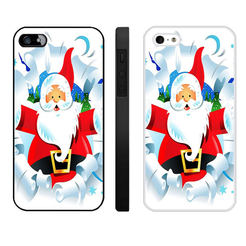 Merry Christmas Iphone 4 4S Phone Cases (2)