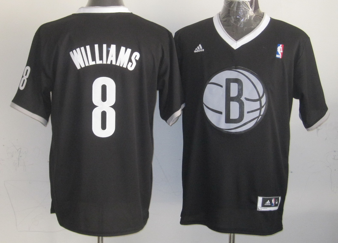 Nets 8 Williams Black Christmas Edition Jerseys