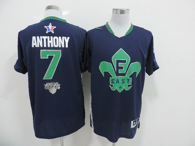 2014 All Star East 7 Anthony Blue Swingman Jerseys