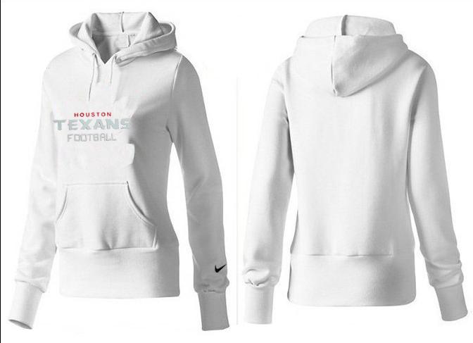 Nike Texans Team Logo White Women Pullover Hoodies 04.png