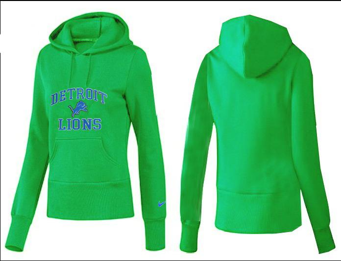 Nike Lions Team Logo Green Women Pullover Hoodies 02.png