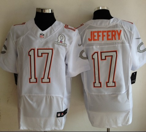 Nike Bears 17 Jeffery White 2014 Pro Bowl Jerseys