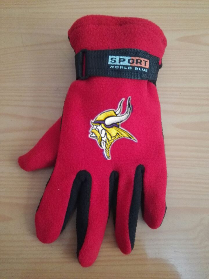 Vikings Winter Velvet Warm Sports Gloves3