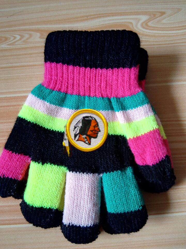 Redskins Kids Knit Gloves3