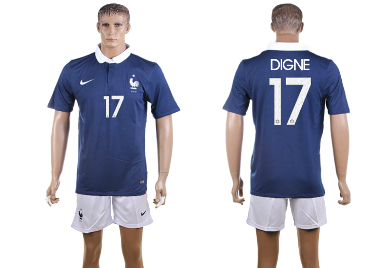 2015-16 France 17 DIGNE Home Jersey