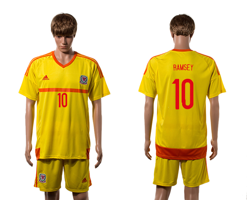 2015-16 Wales 10 RAMSEY Away Jersey