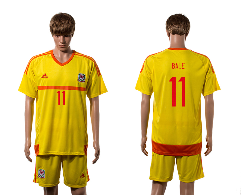 2015-16 Wales 11 BALE Away Jersey