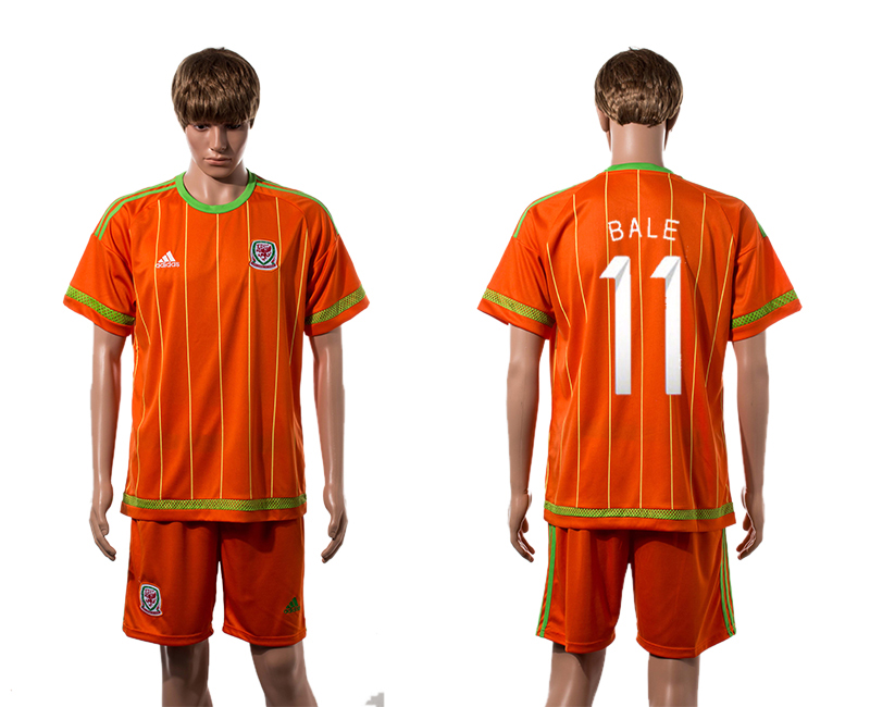 2015-16 Wales 11 BALE Home Jersey