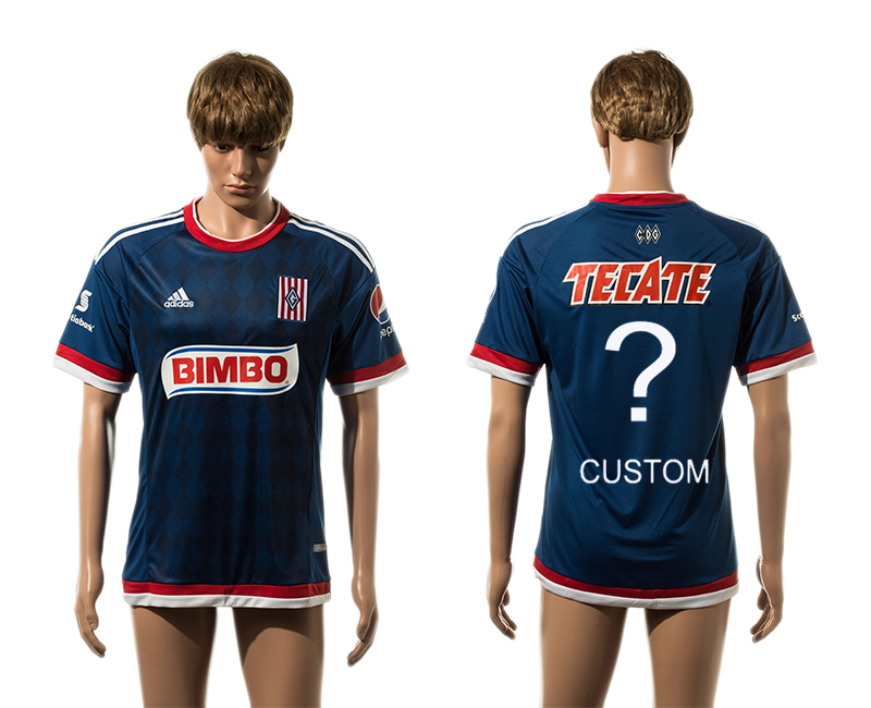2015-16 Guadalajara Away Customized Thailand Jersey