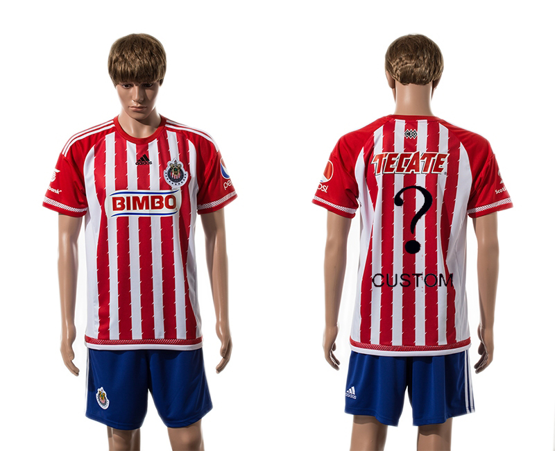 2015-16 Guadalajara Home Customized Jersey