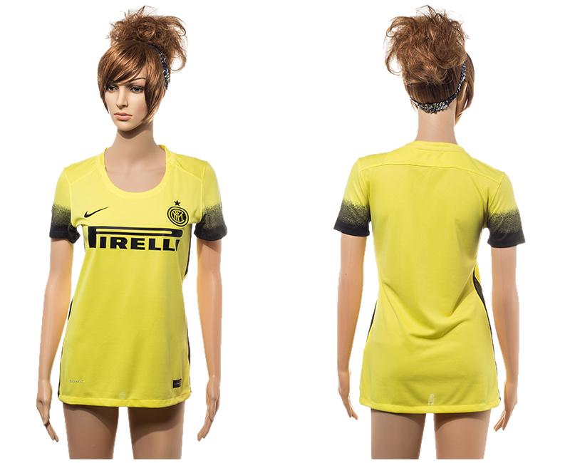 2015-16 Inter Milan Third Away Women Jersey