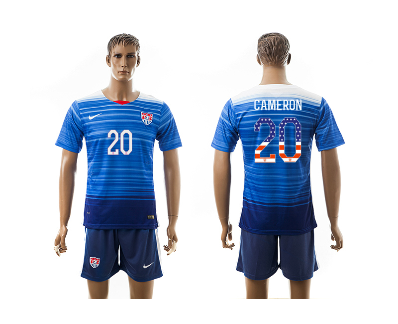 2015-16 USA 20 CAMERON Independence Day Away Jersey