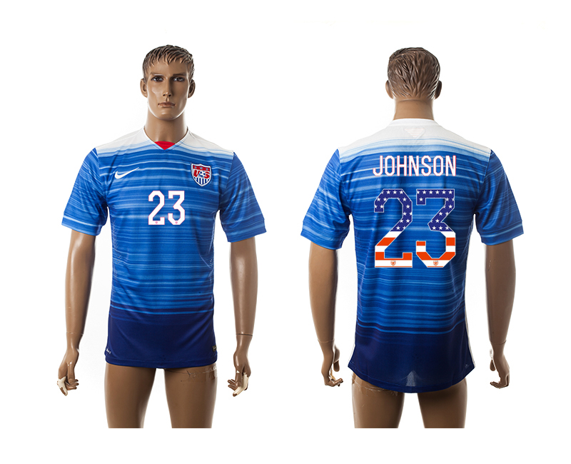 2015-16 USA 23 JOHNSON Independence Day Away Thailand Jersey