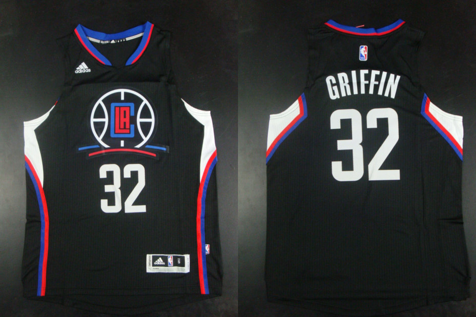Clippers 32 Blake Griffin Black Hot Printed Jersey