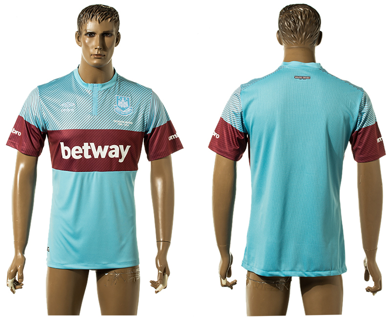 2015-16 West Ham United Away Thailand Jersey