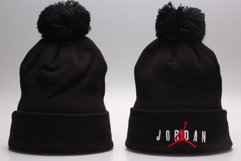 Jordan Black Fashion Knit Hat YP