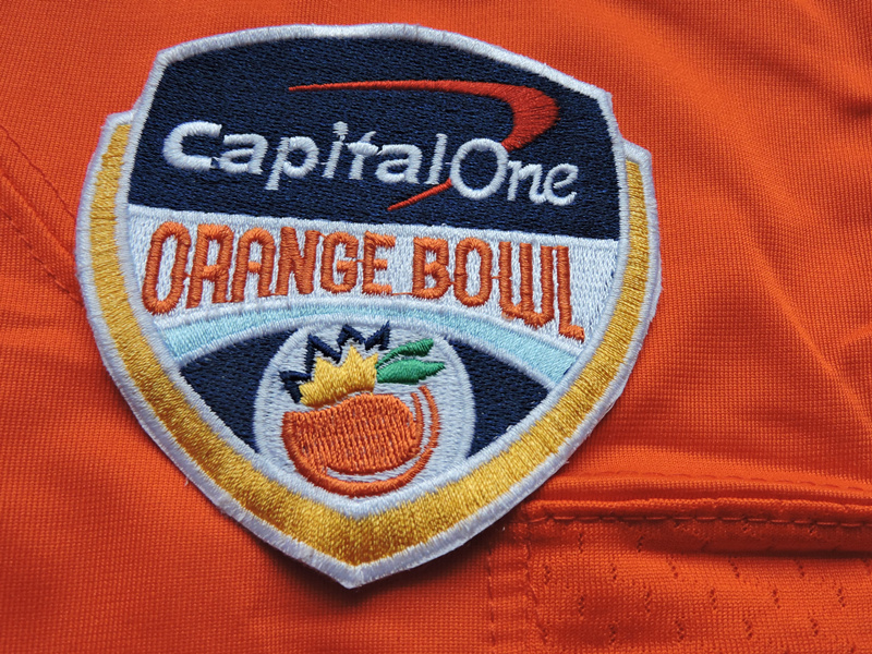 Capital One Orange Bowl Patch