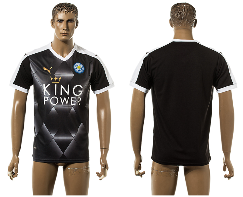 2015-16 Leicester City Away Thailand Jersey