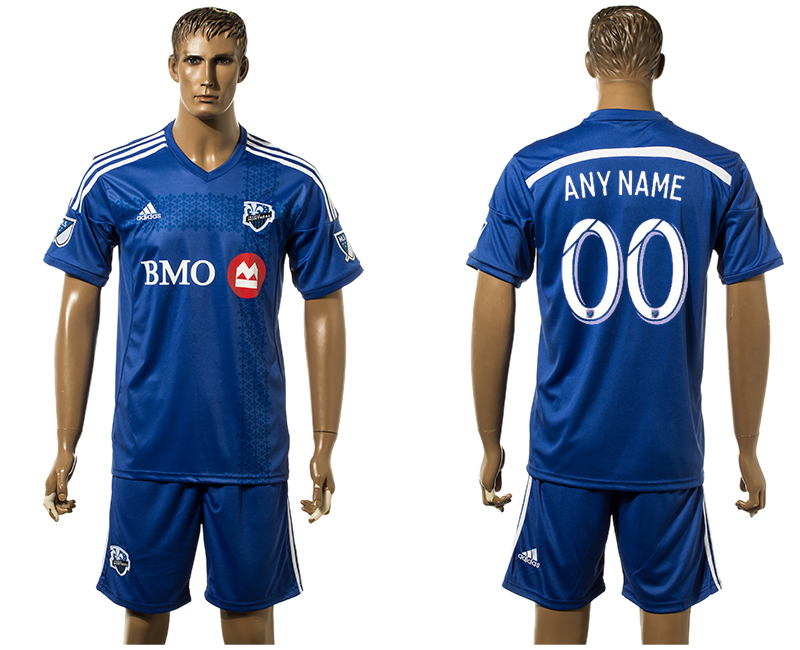 2015-16 Montreal Impact Home Customized Jersey