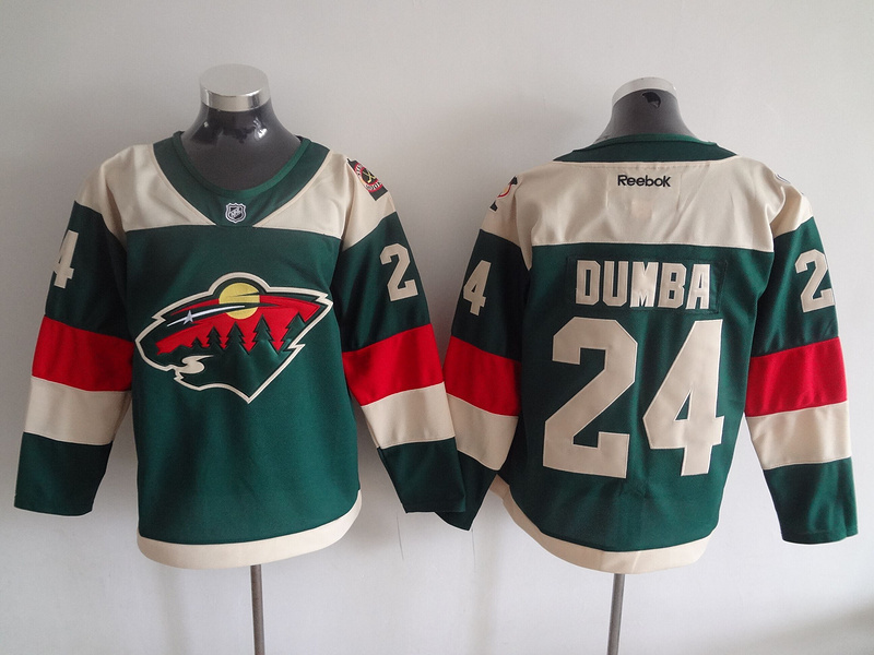 Wild 24 Matt Dumba Green 2016 Stadium Series Reebok Jersey
