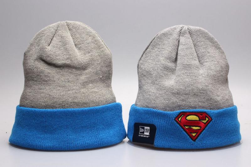 Superman Grey Fashion Knit Cap YP