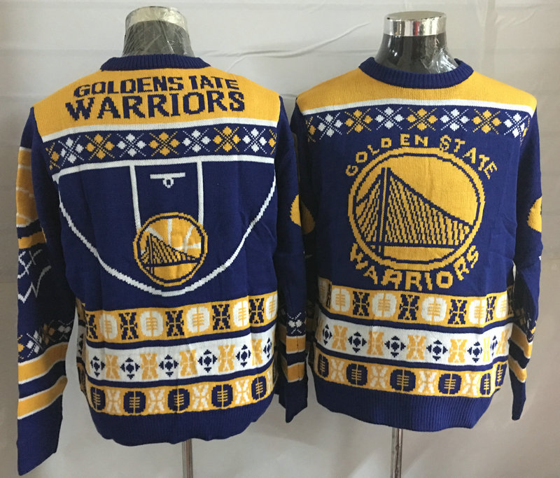 Golden State Warriors Crew Neck Men's Ugly Sweater