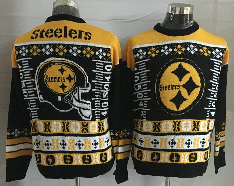 Pittsburgh Penguins Crew Neck Men's Ugly Sweater2