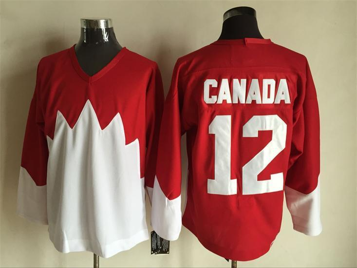 Team Canada 12 Red 1972 Commemorative CCM Jersey