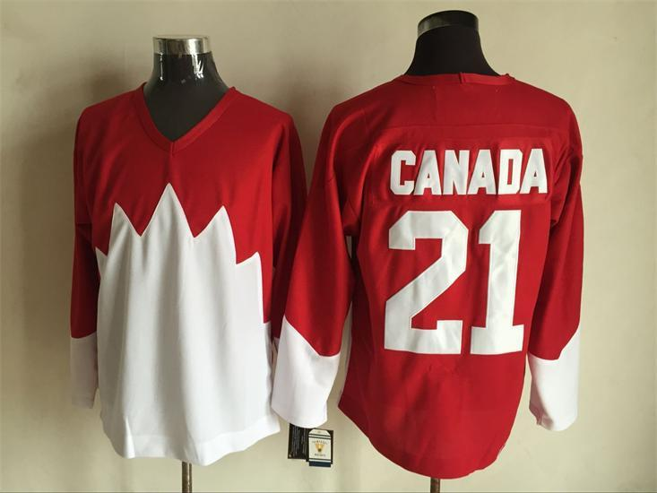 Team Canada 21 Red 1972 Commemorative CCM Jersey