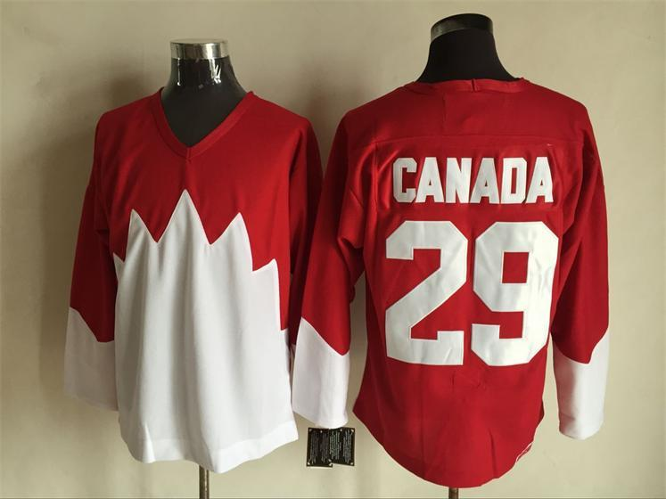 Team Canada 29 Red 1972 Commemorative CCM Jersey